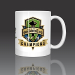 Seattle Sounders 2019 MLS Champions Coffee Mug Ceramic 11oz