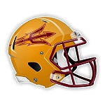 Arizona Sun Devils Football Helmet Die Cut Decal