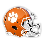 Clemson Tigers Football Helmet Die Cut Decal