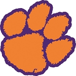 Clemson Tigers  Die Cut Decal