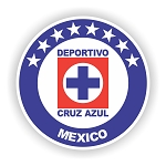 Cruz Azul Mexico  Die Cut Decal