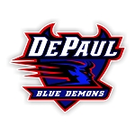 DePaul University Blue Demons Die Cut Decal