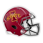 Iowa State Cyclones Football Helmet Die Cut Decal
