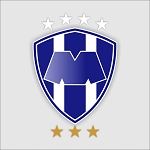 Monterrey Rayados Mexico  Die Cut Decal