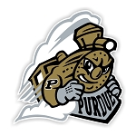 Purdue Boilermakers Mascot Die Cut Decal