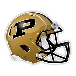 Purdue Boilermakers Football Helmet  Die Cut Decal