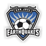 San Jose Eartquakes  Die Cut Decal