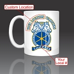 Teamsters Custom (Location & Local) Coffee Mug Ceramic 11oz