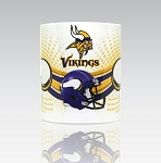 Minnesota Vikings 11oz Ceramic Coffee Mug