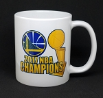 Golden State Warriors 2017 NBA Champions 11oz Ceramic Coffee Mug