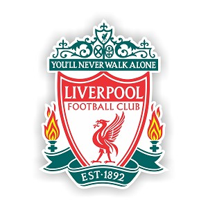 Liverpool FC  Die Cut Decal