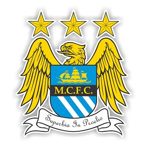 Manchester City FC  Die Cut Decal