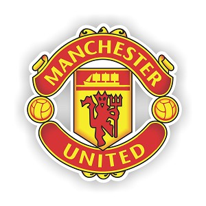 Manchester United  Die Cut Decal