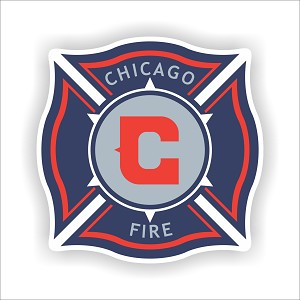 Chicago Fire   Die Cut Decal