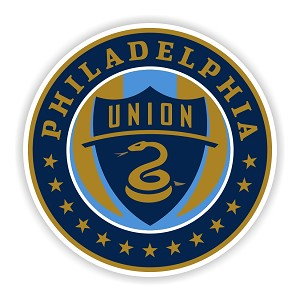Philadelphia Union Round  Die Cut Decal