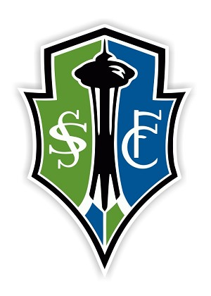 Seattle Sounders  Die Cut Decal