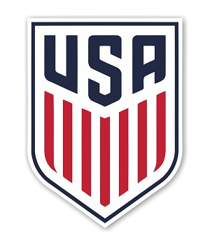 USA Soccer 2016  Die Cut Decal
