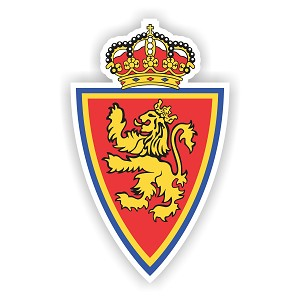 Real Zaragoza  Die Cut Decal