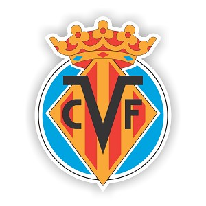 Villareal   Die Cut Decal