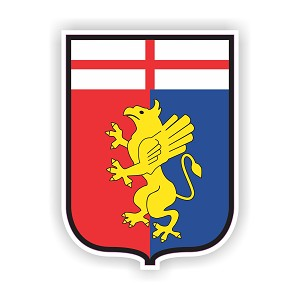 Genoa  Die Cut Decal