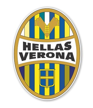 Hellas Verona   Die Cut Decal