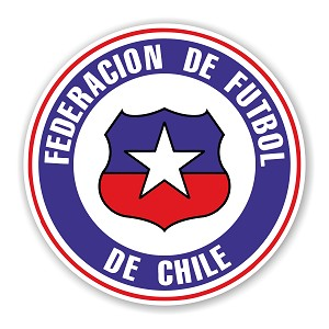 Chile FCF  Federacion de Chile de Futbol  Die Cut Decal
