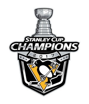 Pittsburgh Penguins Champions Stanley Cup 2017   Die Cut Decal