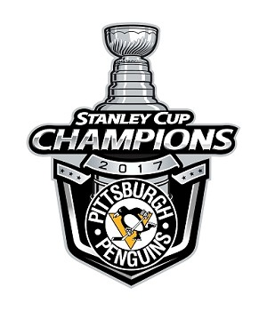 Pittsburgh Penguins Champions Stanley Cup 2017  (C)   Die Cut Decal