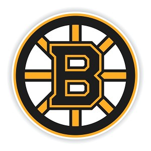 Boston Bruins Round Die Cut Decal