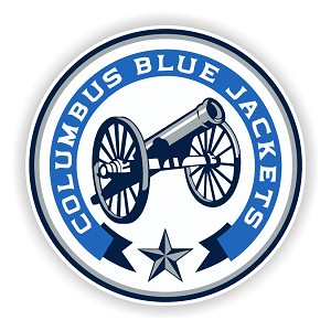 Columbus Blue Jackets Round  Die Cut Decal