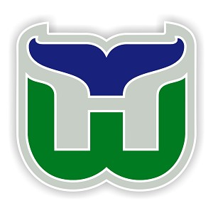 Hartford Whalers  Die Cut Decal