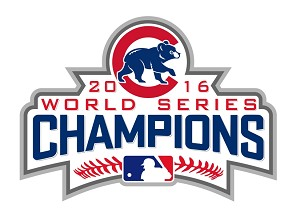 Chicago Cubs World Series Champions 2016  Die Cut Decal