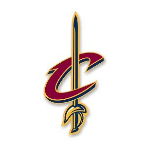 "Cleveland Cavaliers ""C""  Die Cut Decal"