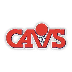 "Cleveland Cavaliers ""CAVS""  Die Cut Decal"