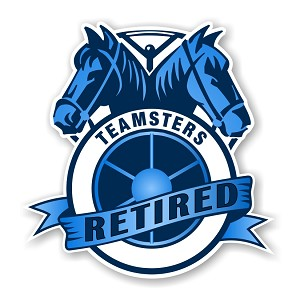 Teamsters  Retired Precision Cut Decal