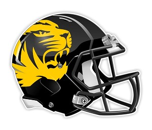 Missouri Tigers ( Mizzou ) Football Helmet Die Cut Decal