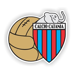 Calcio Catania  Die Cut Decal