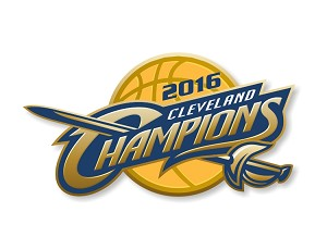 Cleveland Cavaliers  2016 NBA Champions Die Cut Decal