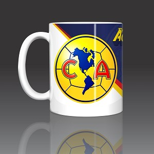 Aguilas Club America Mexico Coffee Mug Ceramic 11oz